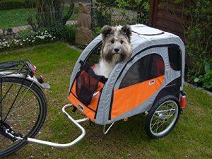 Hundeanhänger Fahrrad mit Federung